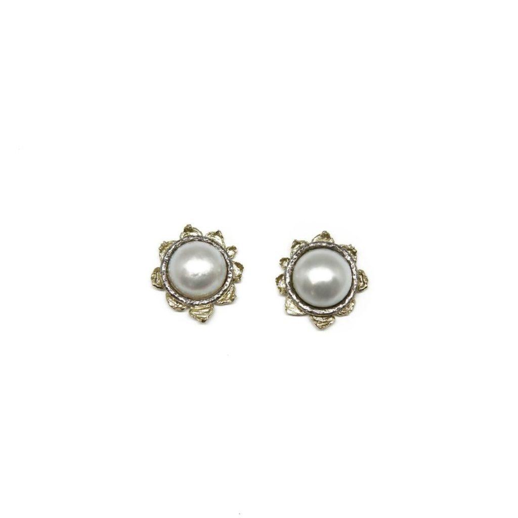 Stud Japanese Pearl Earrings
